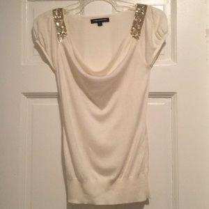 Express cream color blouse.